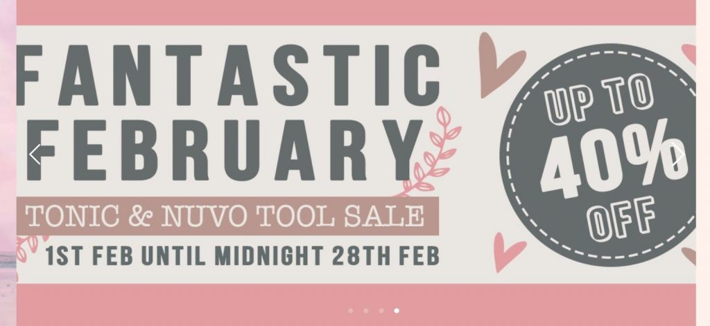 Tonic and Nuvo tools sale