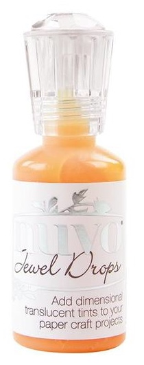 Nuvo - Jewel Drops - Orange Marmalade