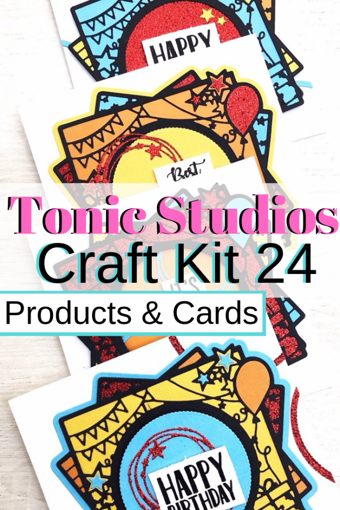 Tonic Studios Craft Kit 24 products Birthday Cards