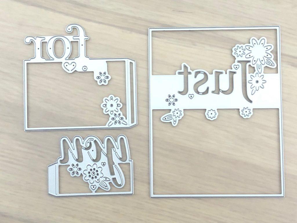 tri-fold card base