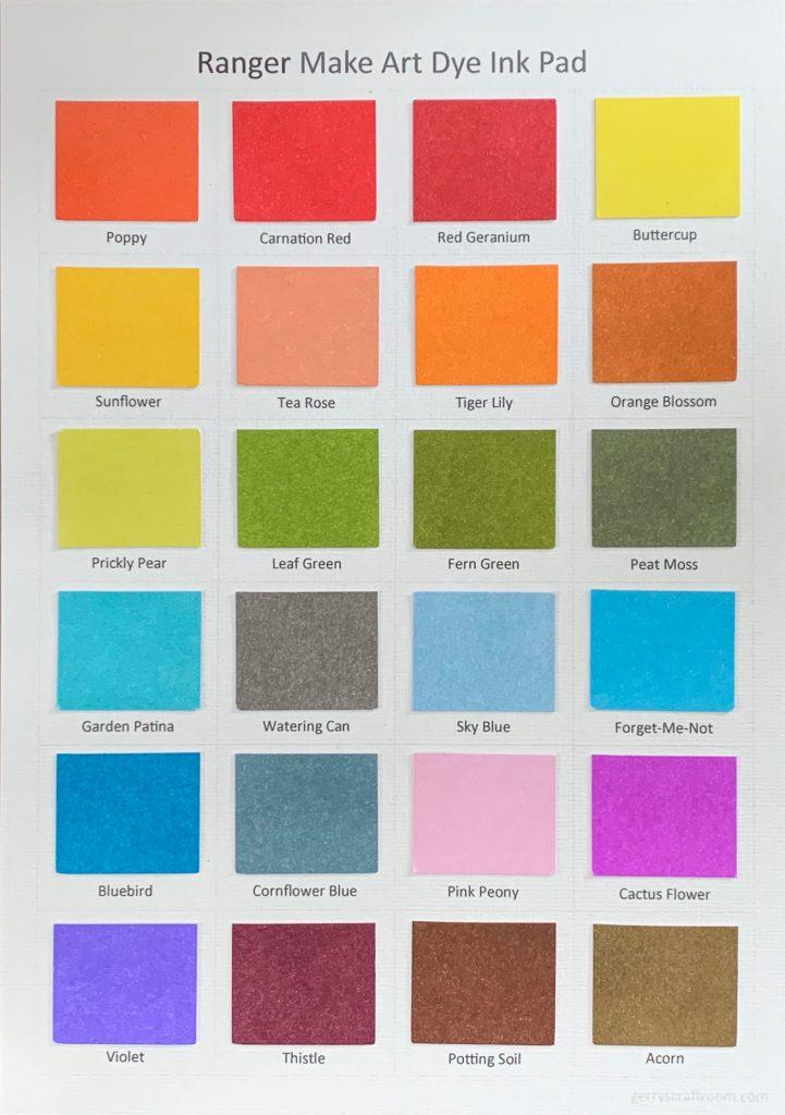 Wendy Vecchi blendable dye ink