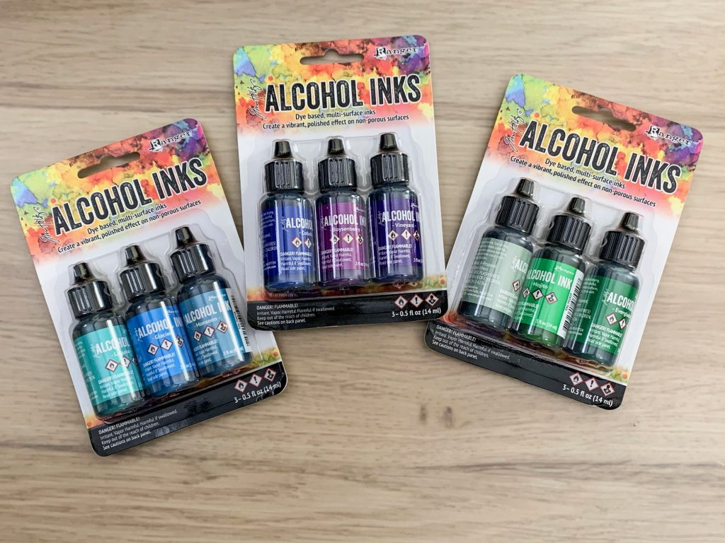 alcohol ink spectrum kits