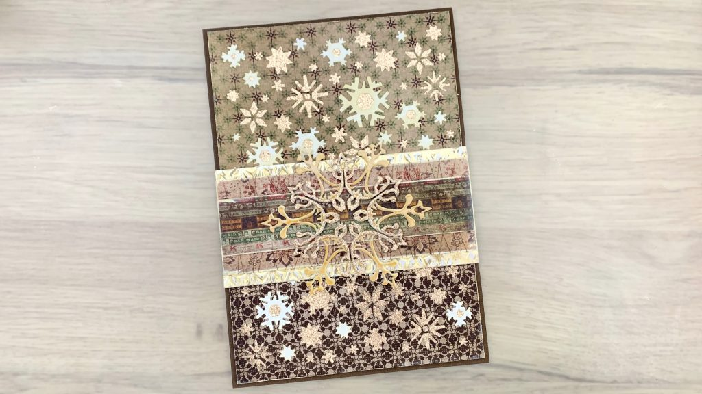 patterned paper card
