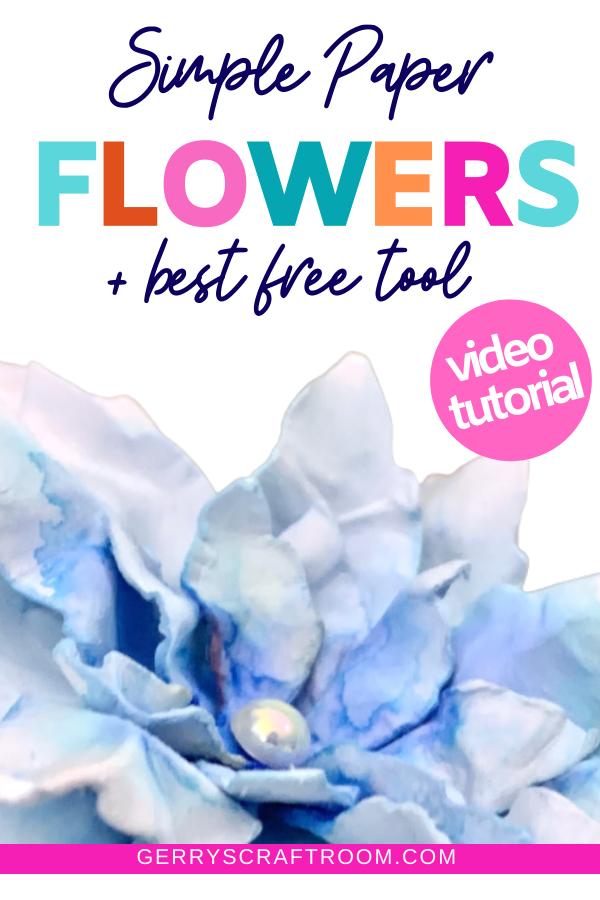 stunning DIY paper flowers
