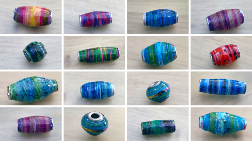Fancy Paper Beads