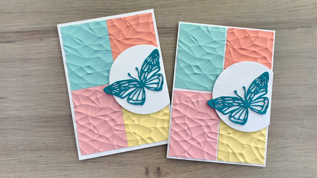cardstock only cards Simple