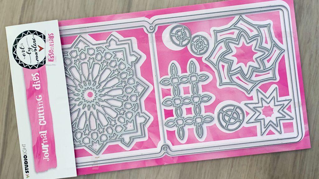 art journal mini album