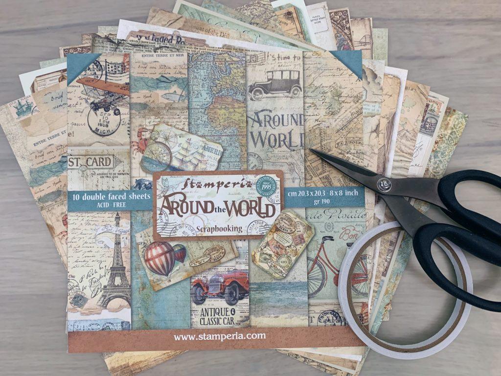 "Craft Along Stamperia ""Around The World"""