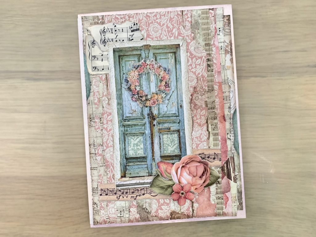 Double envelope cards