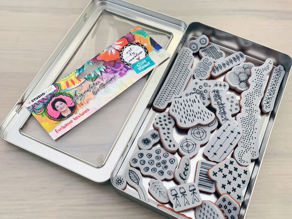 ABM Exclusive Textures Stampset